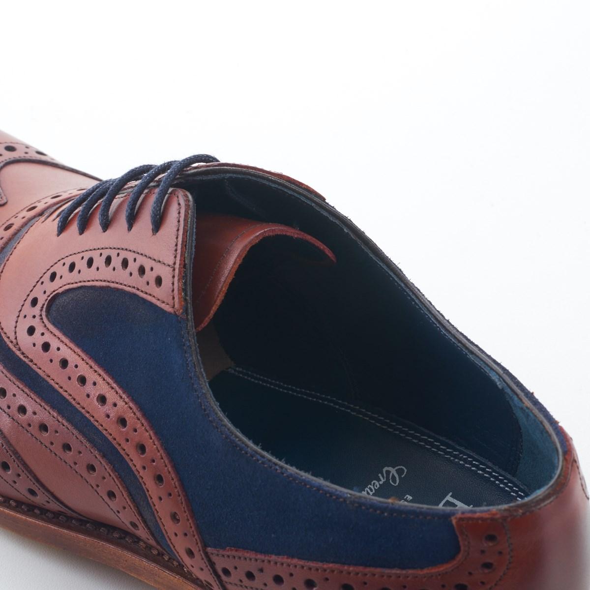 8ff22a01414db Dress Brogue Wingtip McClean Rosewood and Navy by Barker ·  1203052_barker_shoe_mcclean_rwn_3070_3128 ·  1203052_barker_shoe_mcclean_rwn_3072_3130