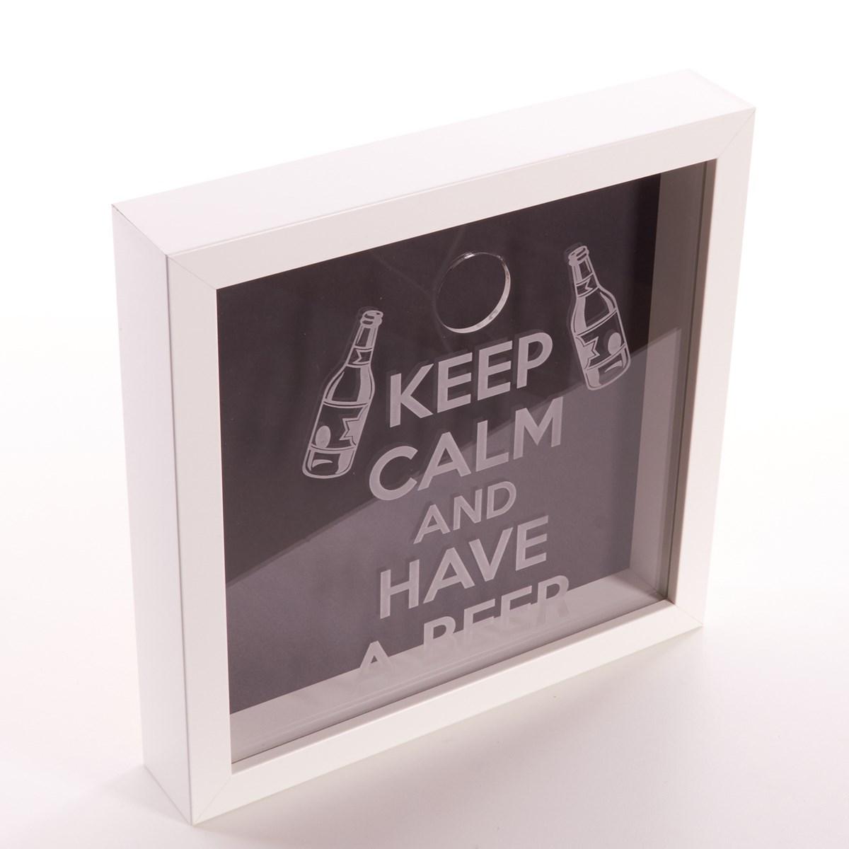 Beer Bottle Caps Boxed Frame Memory Box - The Kilt Store