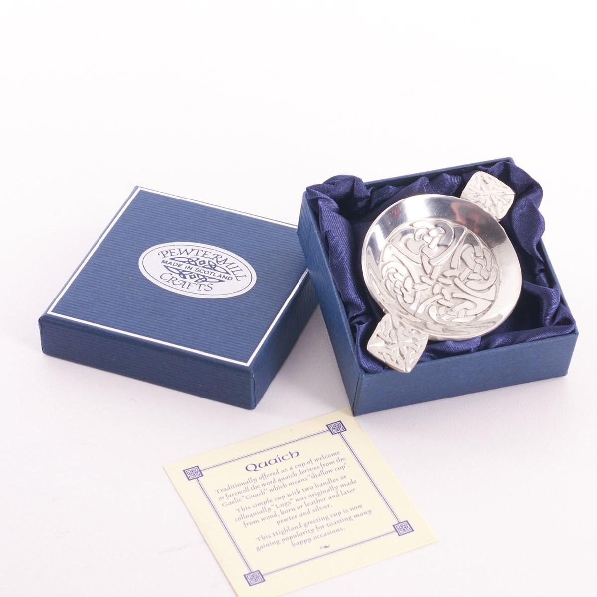 Celtic pewter mini quaich the kilt store 18160065miniquaichceltic25992789 kristyandbryce Choice Image