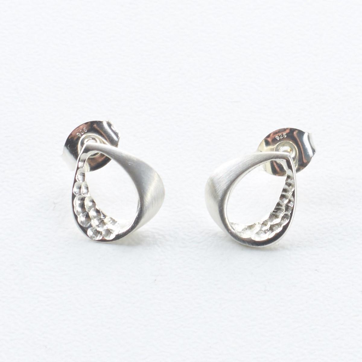 70d7b92b6 Sterling Silver Trendy Twirls Earrings by Ortak - The Kilt Store