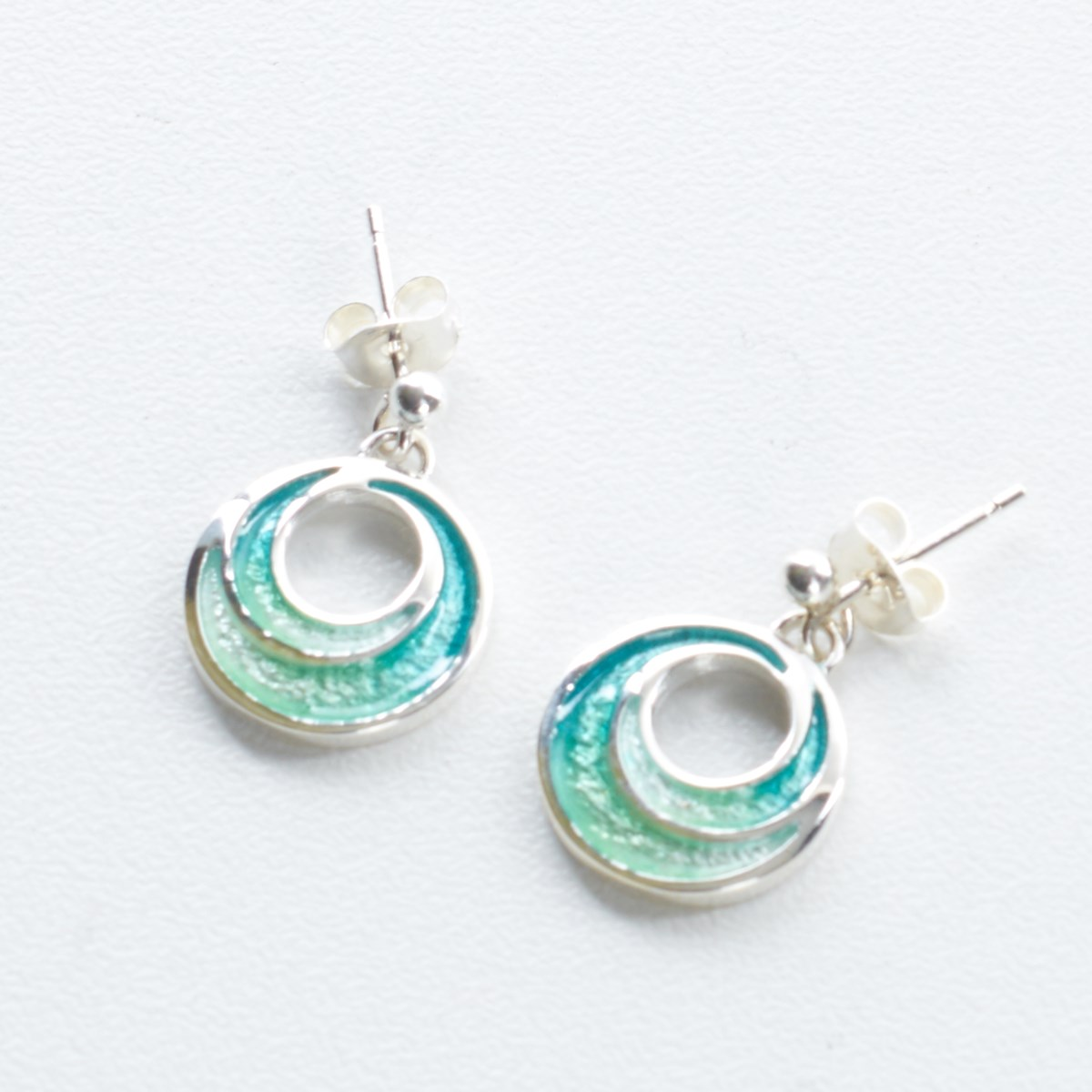 1a9e8c659 Sterling Silver New Dawn Earrings, Tundra by Ortak - The Kilt Store