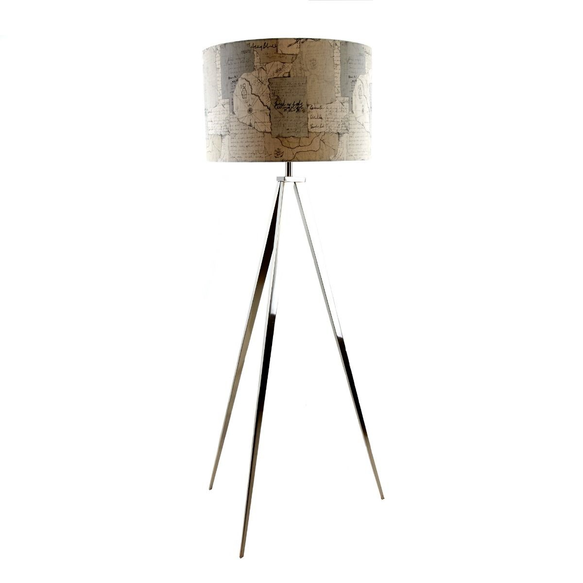 Eos Floor Lamp With Explorer Antique Shade By Voyage Maison The Kilt Store