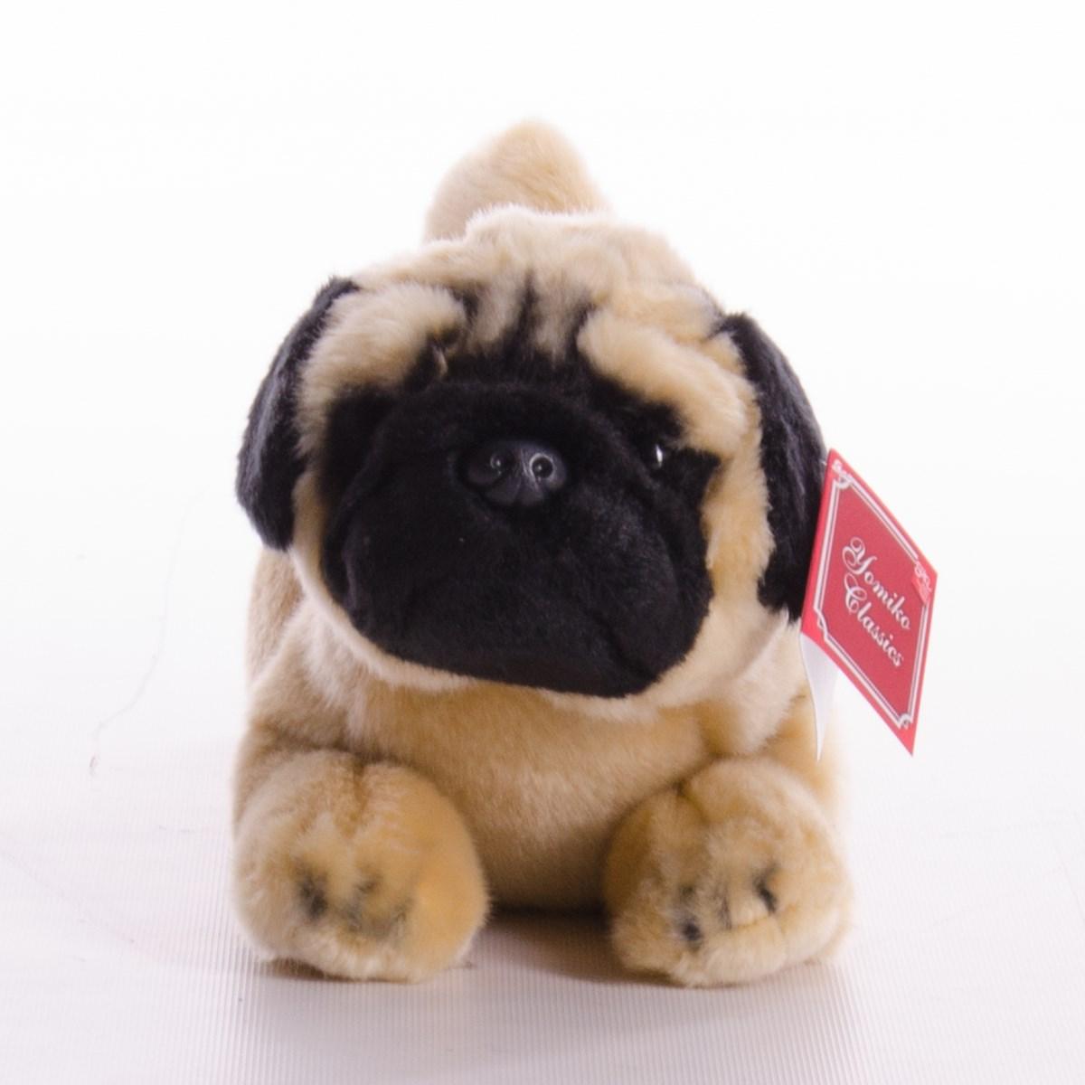 New Suki Yomiko Large Lying 14 Inch Plush Pug Dog The Kilt Store