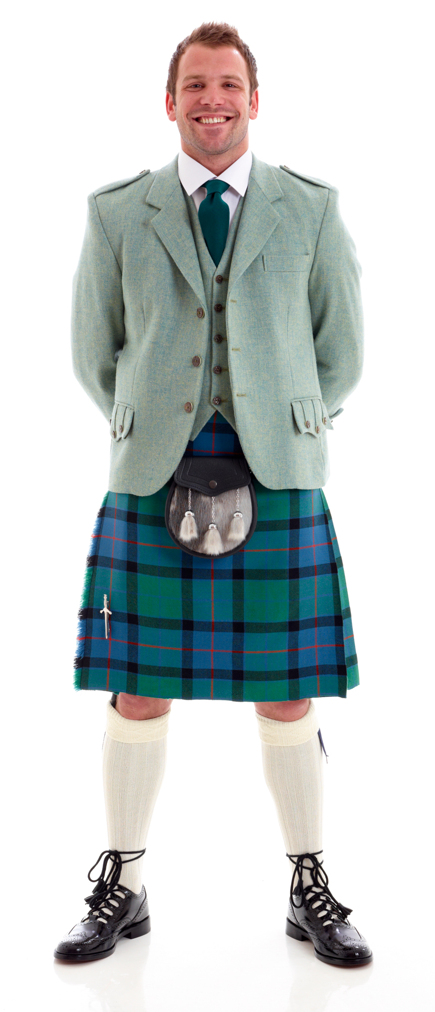 what are kilts made of