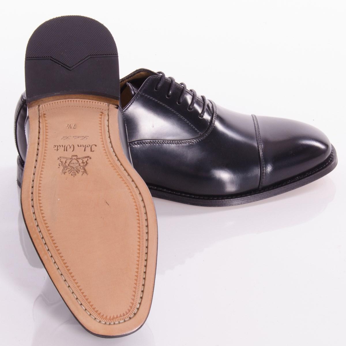 a86ae301172c89 Oxford Black Polished Shoes By John White · john_white_1203037_oxford-2