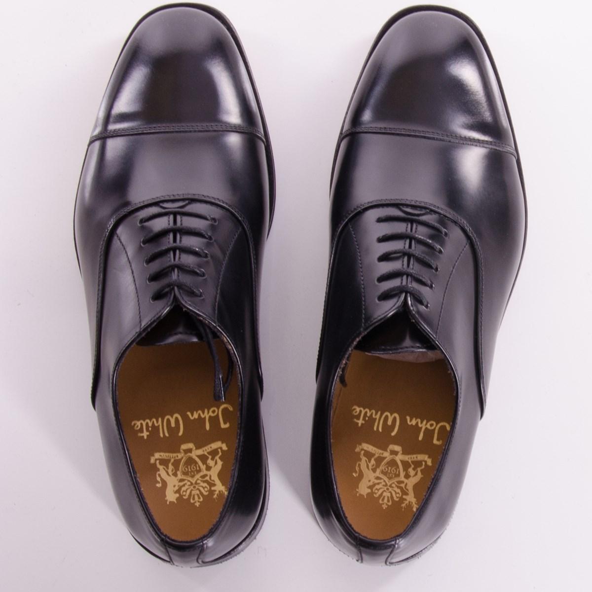 ba6f5e05a76701 john_white_1203037_oxford-4. Previous; Next. Oxford Black Polished Shoes By John  White ...