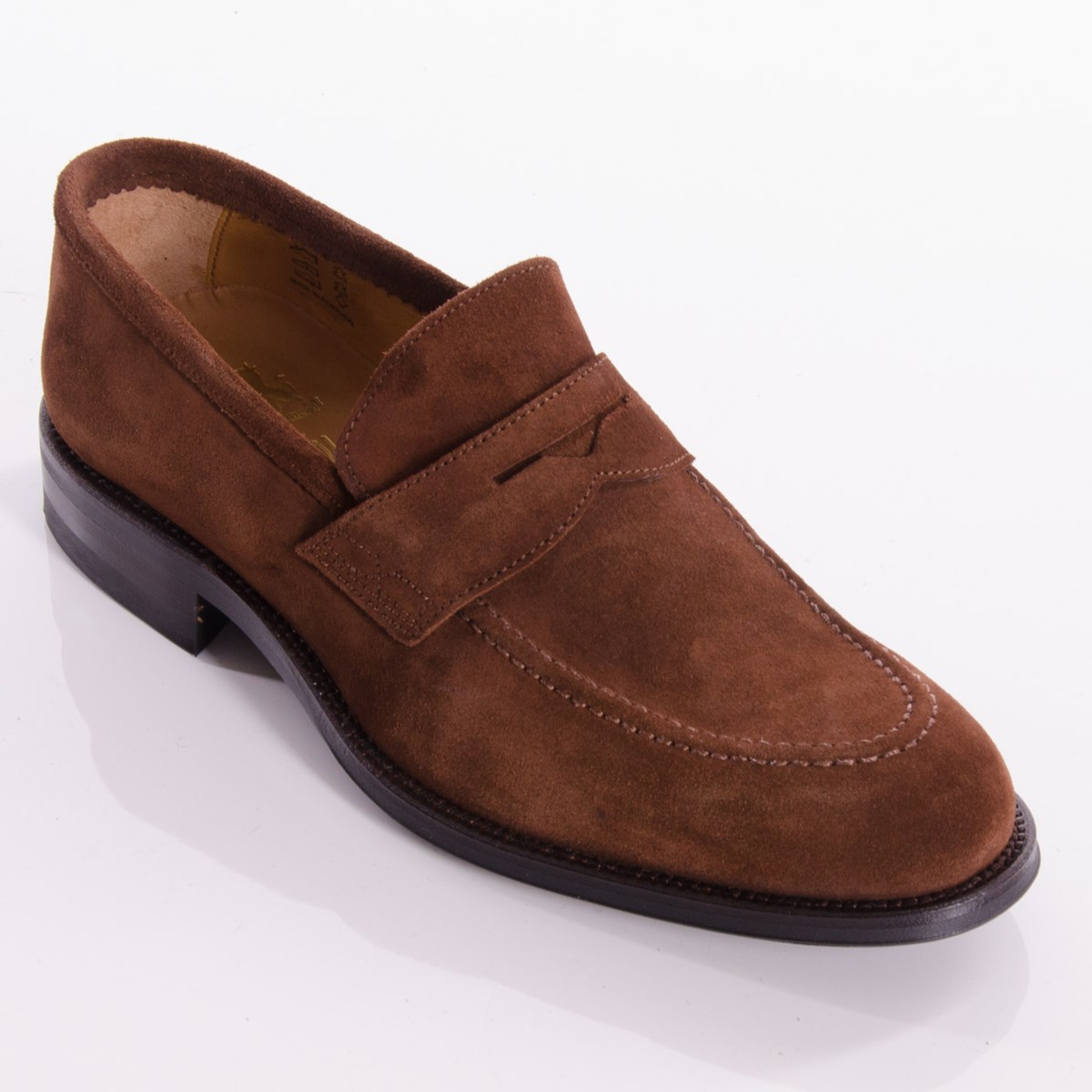 e46ff902ea7a9 Stamford Brown Suede Loafers By John White - The Kilt Store