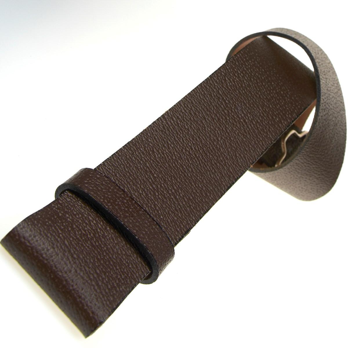 brown leather kilt belt made in edinburgh the kilt store