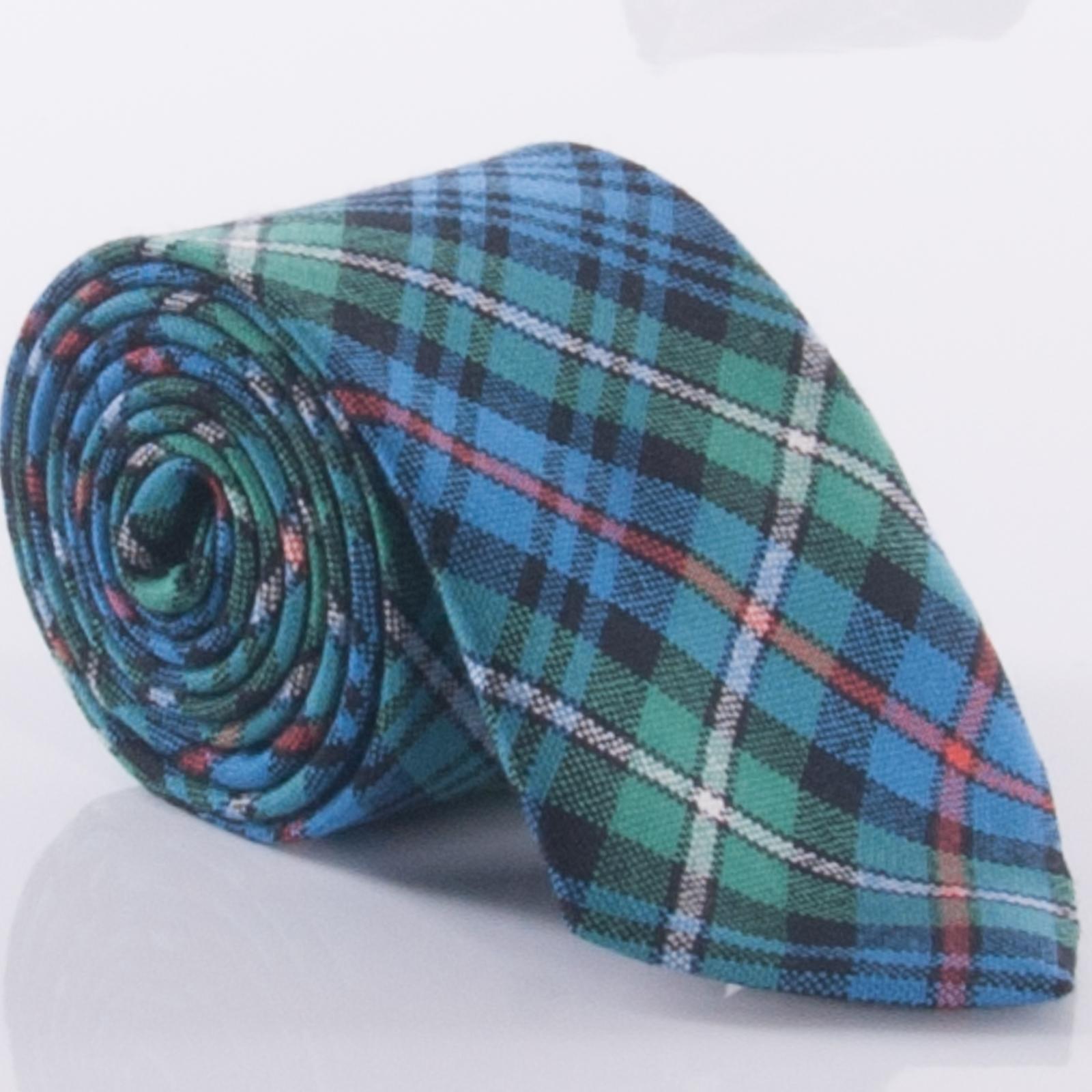 Dress Gordon Modern Tartan Ties 100/% Wool