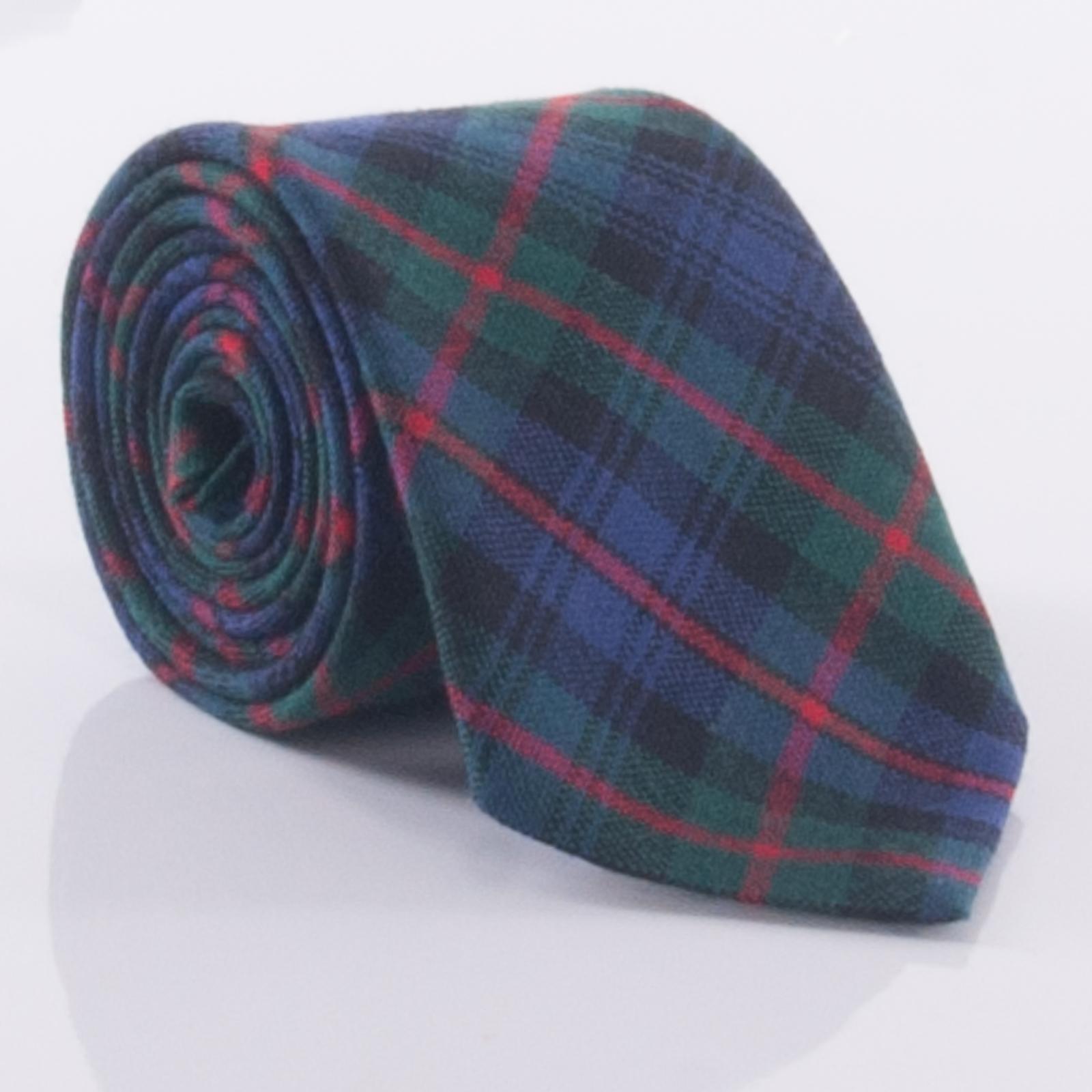 Mens Bow Tie Woven in Scotland Murray of Atholl Modern Tartan