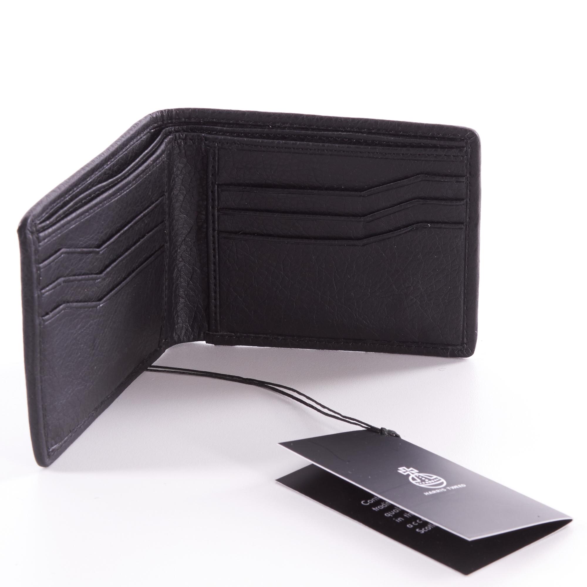 Hebridean Storm Harris Tweed Bi-Fold Wallet